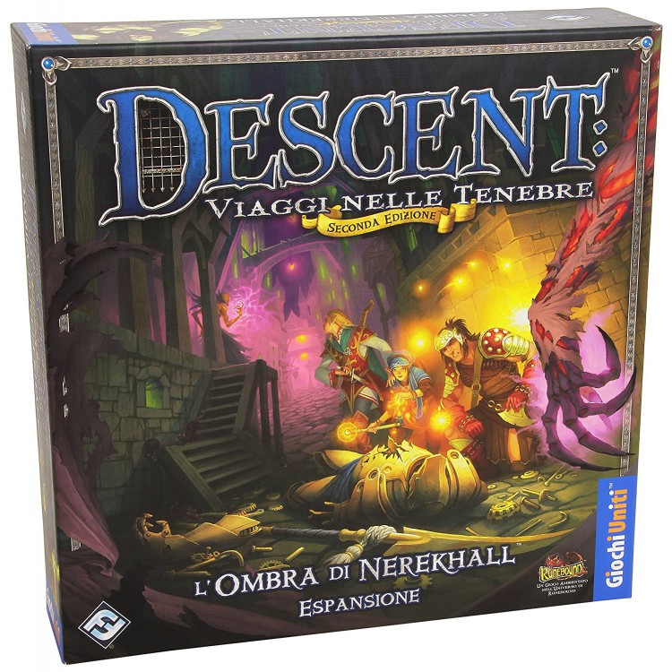 DESCENT 2ND ED.:L'OMBRA DI NEREKHALL