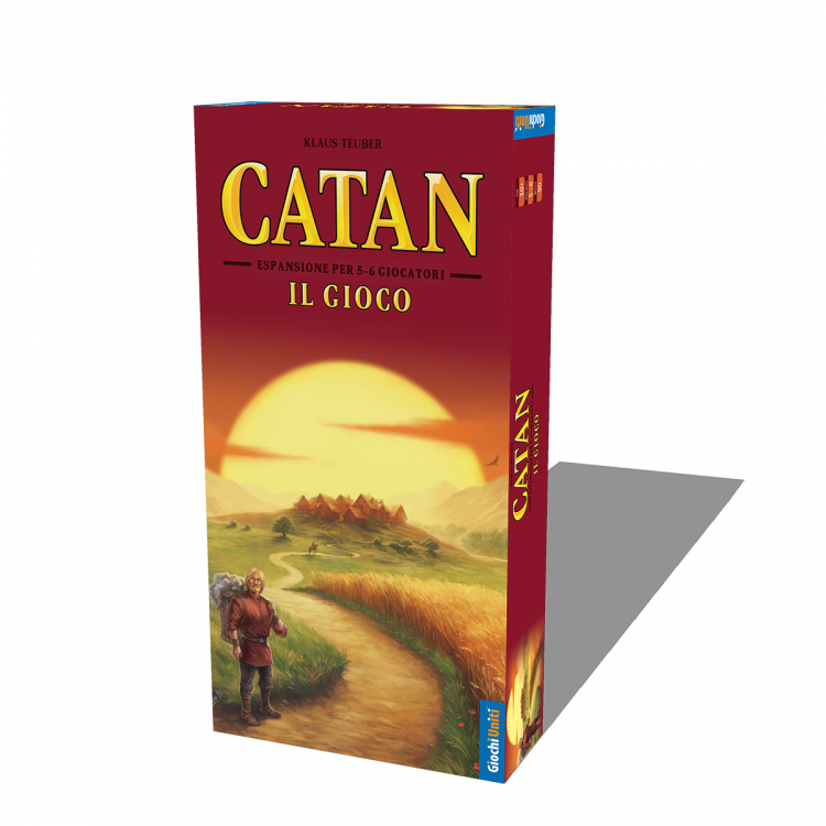 CATAN: ll gioco 5/6 giocatori new - ESP
