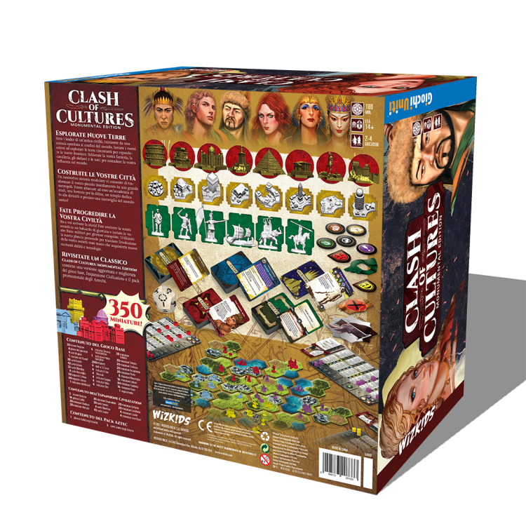 Clash of cultures monumental edition box