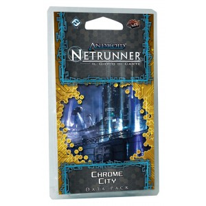 ANDROID NETRUNNER LCG - CHROME CITY